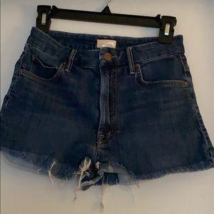 Mother High Waisted Cutoffs Jean Shorts
